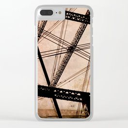 cables Clear iPhone Case