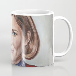 Captain Janeway - Portrait Painting Coffee Mug