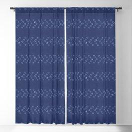 Shibori Arrow Blackout Curtain