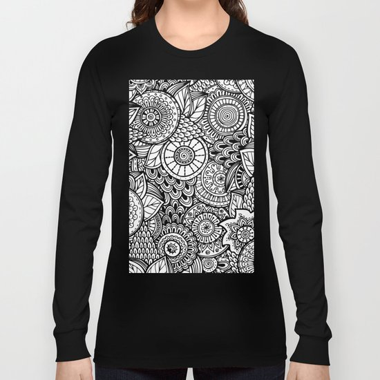 Kalakusar v2 #society6 Long Sleeve T-shirt