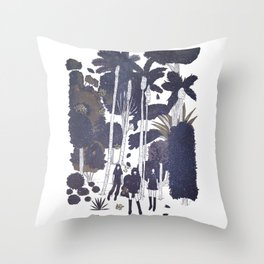 fall leaves version 2 Throw Pillow