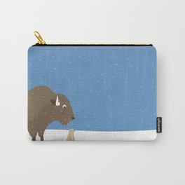 buffalo & prairie dog - I've got you covered Carry-All Pouch