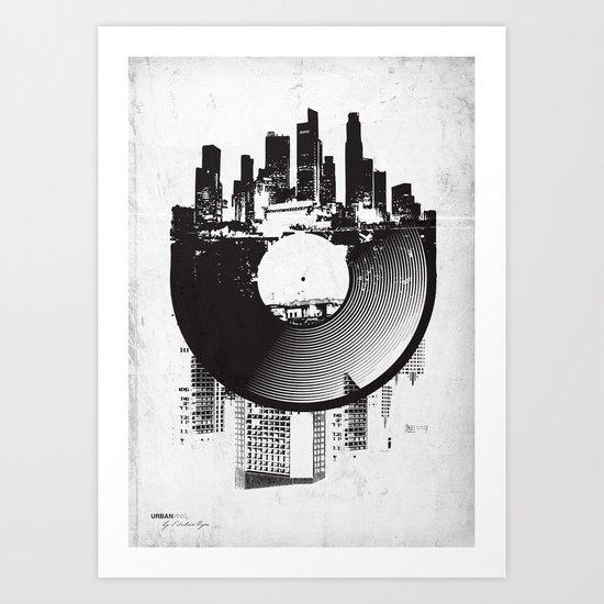 Urban Vinyl Art Print