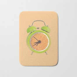 Fruity alarm clock Bath Mat