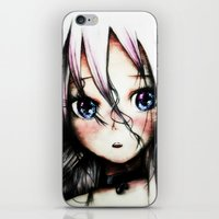vocaloid iPhone & iPod Skins featuring A Vocaloid - IA by KhalilKhalidy