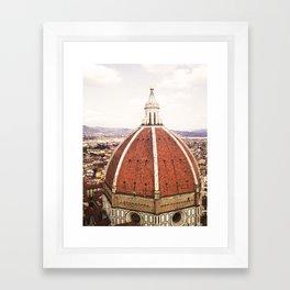 Duomo - Hazy, Florence Photography Framed Art Print
