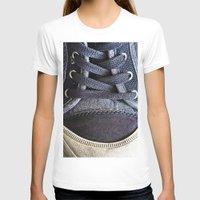 shoe T-shirts featuring Shoe by Fine2art