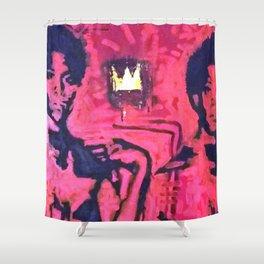 Samo David  Shower Curtain
