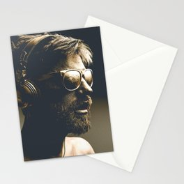 Painting man Stationery Cards