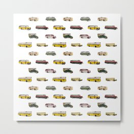 Drive my bus Metal Print