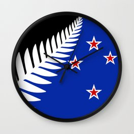 NZ flag (that nearly made it) 2016 Wall Clock