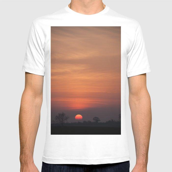 Sunset over Norfolk T-shirt