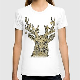 Hirsch gold T-shirt