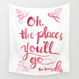 Oh, The Places You'll Go! Wall Tapestry