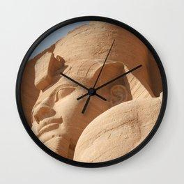 Abu Simbel 004 Wall Clock