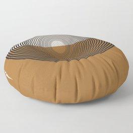 Mid Century Style, Retro  Floor Pillow