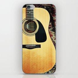 Heart Strings By Inez Benoit - My Guitar Gently Weeps iPhone Skin