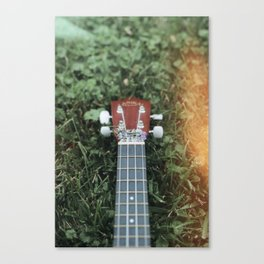 Niki's Uke Canvas Print