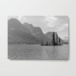 St. Mary Lake - Glacier National Park - Montana Metal Print
