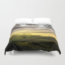 Up To The Mountains Duvet Cover