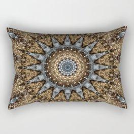 Mandala Christmas Eve Rectangular Pillow
