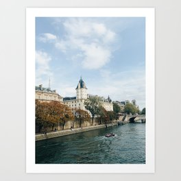 Europe in October Art Print