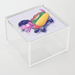 Chicago Hockey Dog Acrylic Box