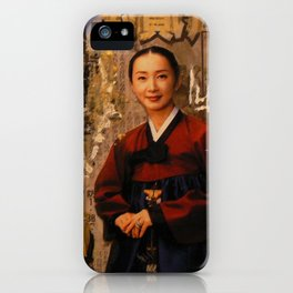HANBOK I iPhone Case