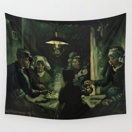 Vincent Van Gogh The Potato Eaters Wall Tapestry