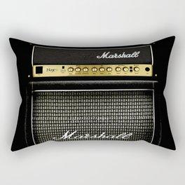 Gray amp amplifier Rectangular Pillow