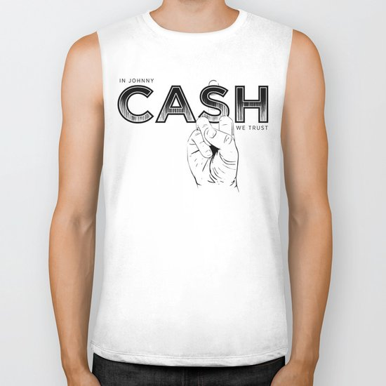 In Johnny Cash We Trust. Biker Tank