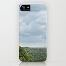Soaring Through The Storm - Letchworth Park iPhone Case
