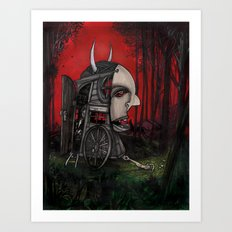 The Horseless Headsman Art Print