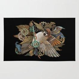 Clockwork Sparrow Rug