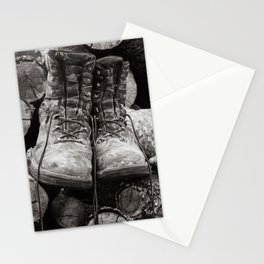 Manual Labor - Firewood 3 Stationery Cards