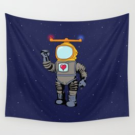 Spaceman Wall Tapestry