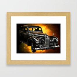 Humber Pullman Limousine Framed Art Print