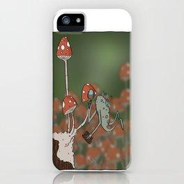Mushroom Inspector iPhone Case