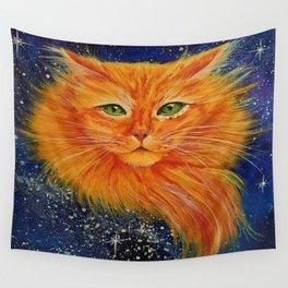 Galaxy Cat Wall Tapestry
