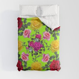 Roses pattern Comforters