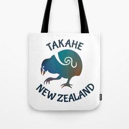 TAKAHE New Zealand Native bird Tote Bag