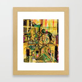 No:6 Framed Art Print