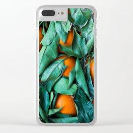 oranges #society6 #decor #buyart Clear iPhone Case