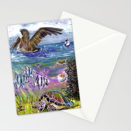 Traffic on the Chesapeake Bay Stationery Cards