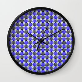 Shells Pattern Wall Clock