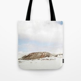 Lonely mountain Tote Bag