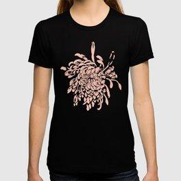 Pink Chrysanth T-shirt