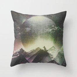 Always dream big Throw Pillow