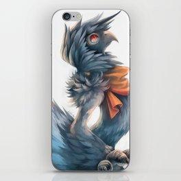 Avian Paint Sketch iPhone Skin