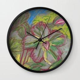 Hellebore Wall Clock